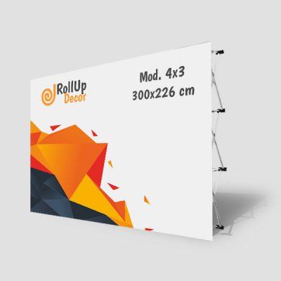 Popup Standard 3×4