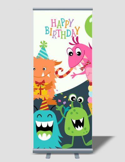 Roll Up para cumpleaños