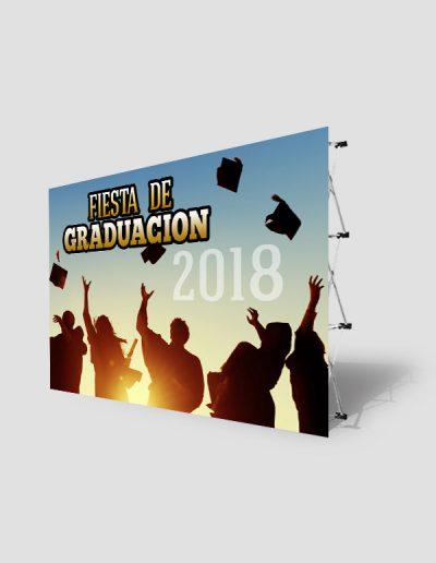Photocal para fiesta de graduación