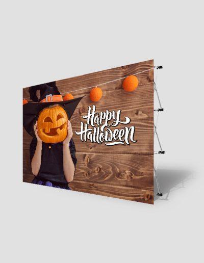 Photocall para fiesta de Halloween