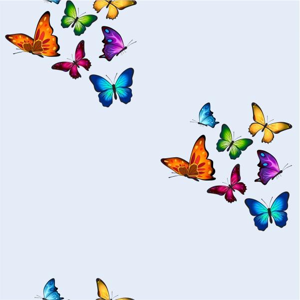 Mariposas – Azul