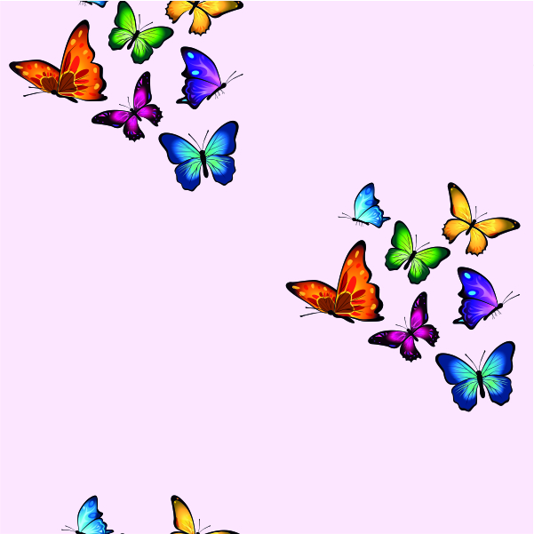 Mariposas – Rosa
